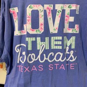 Ladies TXST shirt